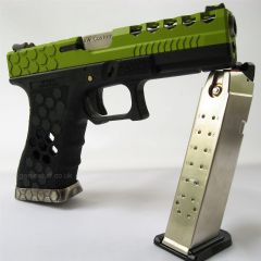 Armorer Works VX0101 G17 Green Airsoft Pistol GBB
